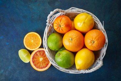 Bild Frische Zitrusfrüchte