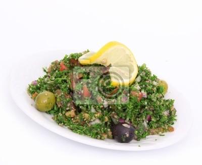 Frischer Salat tabbouleh