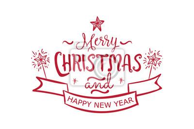 Karte Frohe Weihnachten.Bild Frohe Weihnachten Frohes Neues Jahr Schriftzug Schrifttext Karte