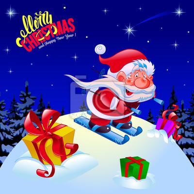 Glückwünsche Zu Weihnachten.Bild Frohe Weihnachten Und Ein Glückliches Neues Jahr Glückwunsch