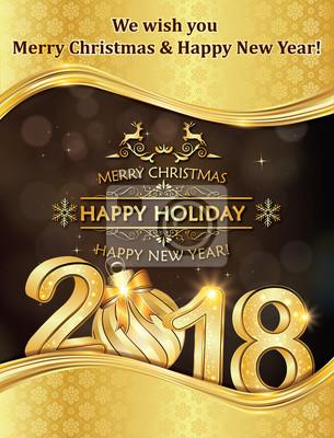 Frohe Weihnachten Und Ein Gutes Neues Jahr Holländisch.Bild Frohe Weihnachten Und Ein Gutes Neues Jahr Grußkarte