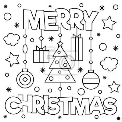 Frohe Weihnachten Malvorlage Malvorlagencr