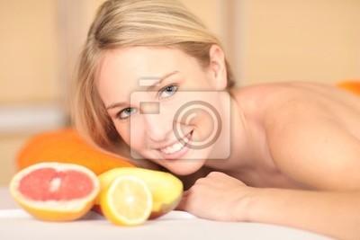 Frucht Massage Portrait