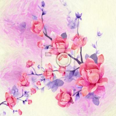 Frühling Bouquet von Wildblumen Farbe
