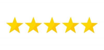 Bild Fünf-Sterne-Bewertung