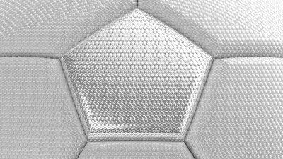Fußball. 3D Abbildung. 3D CG. Hohe Auflösung.