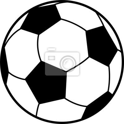 Fussball Als Vektor Grafik Leinwandbilder Bilder