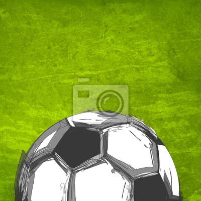 Fußball auf dem Feld einfach alles bearbeitbar
