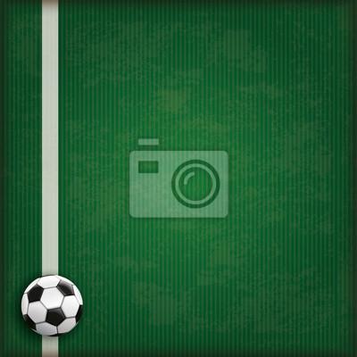 Fussball Boden Grun Abdeckung Leinwandbilder Bilder Fussballstadion