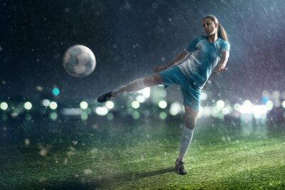 Bild Fußball-Frau
