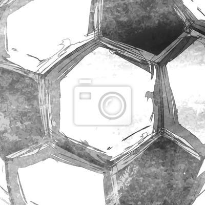 Fußball Fußball abstrakten Hintergrund leicht bearbeitbar