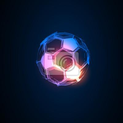 Fußball licht abstrakte frankreich flaggen einfach alle editierbar