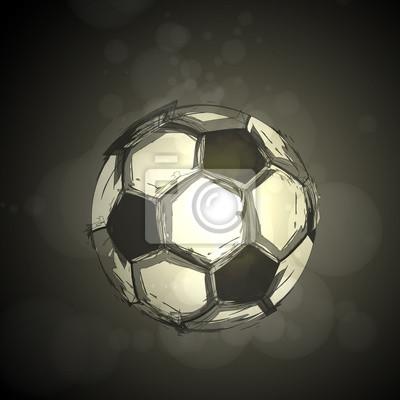 Fußball Licht abstrakte Vektor-Design