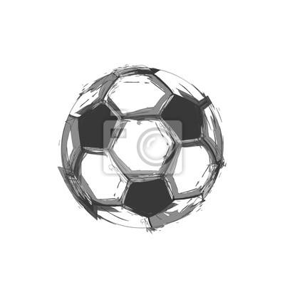 Fußball Licht abstrakten Design