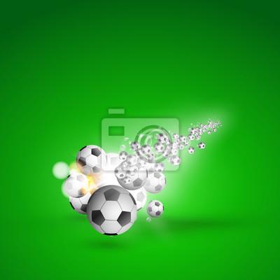 Fußball Lichtabdeckung einfach editierbar