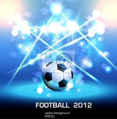 Fußball-Light-Poster, leicht bearbeitet