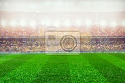 Fußball oder Rugby-Stadion Hintergrund