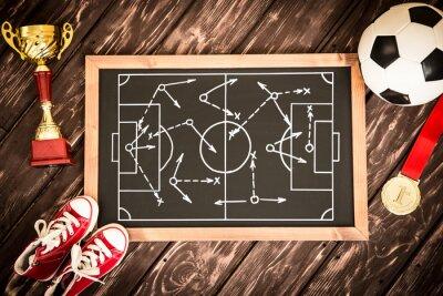 Fußball-Spiel-Strategie