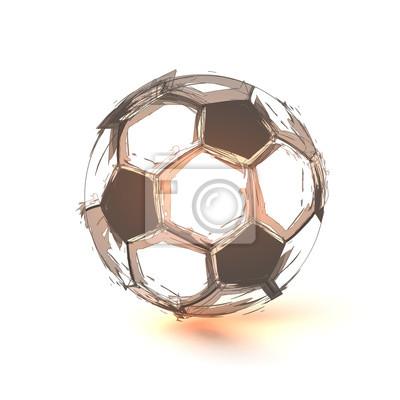 Fußball, Sport, Spiel, Ball, leicht editierbar