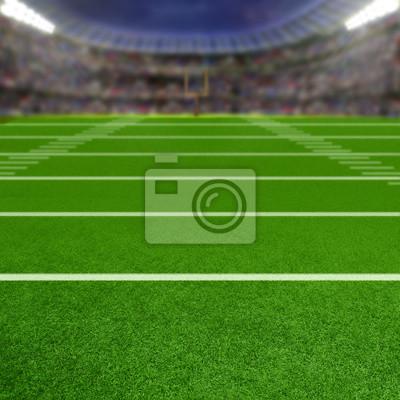 Fußball-Stadion Mit Textfreiraum