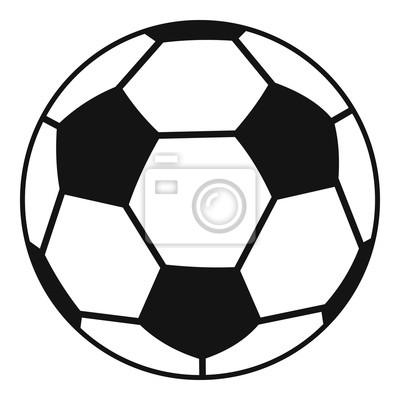 Fussball Symbol Einfache Stil Leinwandbilder Bilder Strafe