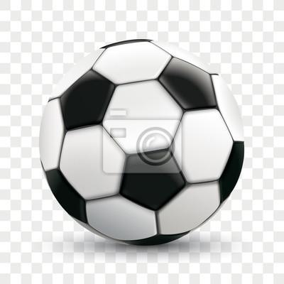 Fußball Transparenter Hintergrund Leinwandbilder Bilder