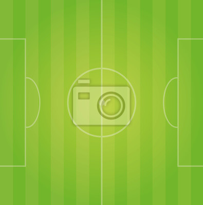 Fussballfeld Spielfeld Grun Leinwandbilder Bilder