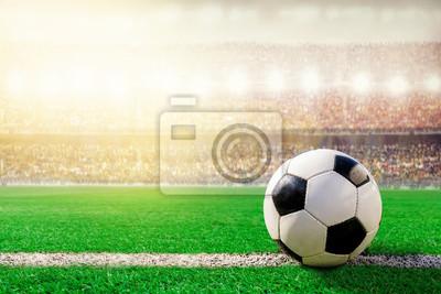 Fußballfußball im Stadion