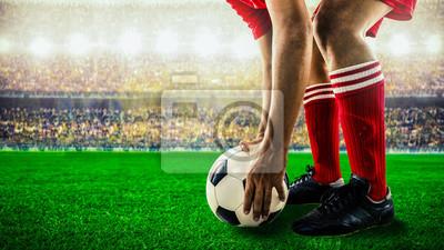 Fußballfußball startet