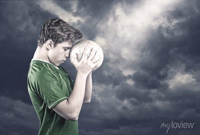 Bild Fußballspieler