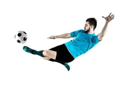 Bild Fußballspieler Mann Getrennt