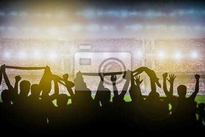 Fußballstadion Hintergrund