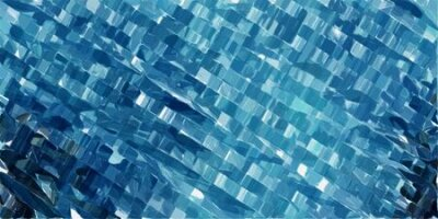 Bild futuristic modern tech stripes background with teal blue, powder blue and very dark blue colors.