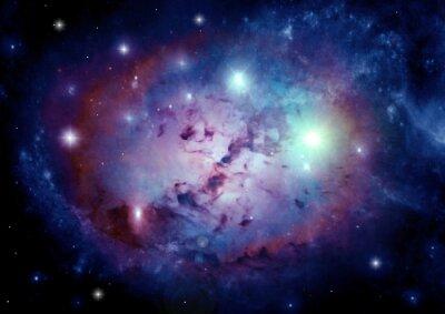 Bild Galaxie in einem freien Raum