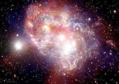 Bild Galaxien in einem freien Raum