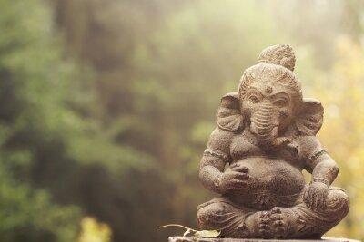 Bild Ganesha Gottheit Steinstatue