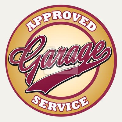 Garage-Service anmelden