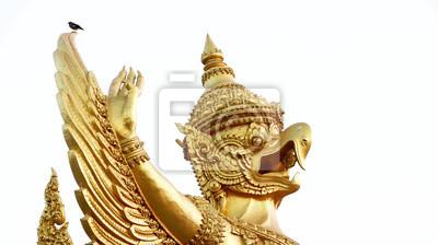 Bild Garuda, Ubon Ratchathani Candle Festival parade in Thailand.