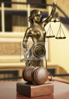 Gavel und Lady of Justice