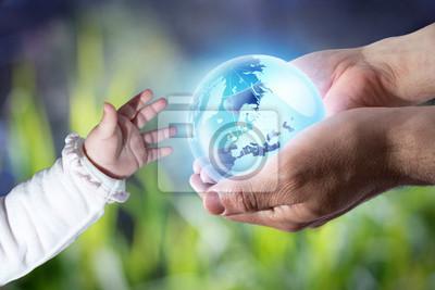 geben der Welt die neue Generation