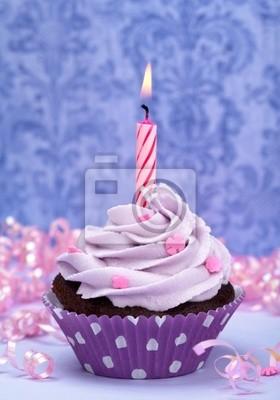 Geburtstag Cupcake Leinwandbilder Bilder Susswaren Streuseln