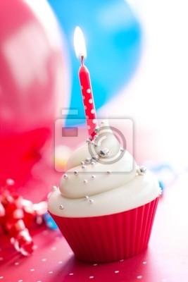 Geburtstag Cupcake Leinwandbilder Bilder Cupcakes Gefrostet