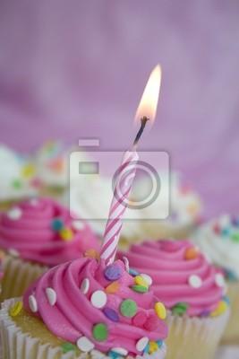 Geburtstag Cupcakes Leinwandbilder Bilder Kohlenhydrat Verwohnen