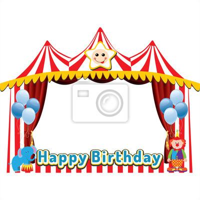 Geburtstag oder Party-Fotorahmen
