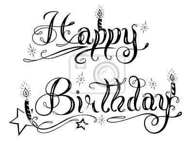 Geburtstag Schriftlogo Schrift Logo Alles Gute Zum Geburtstag