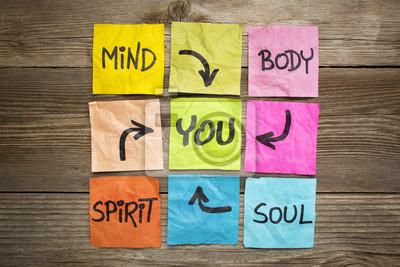 Bild Geist, Körper, Geist, Seele und Sie
