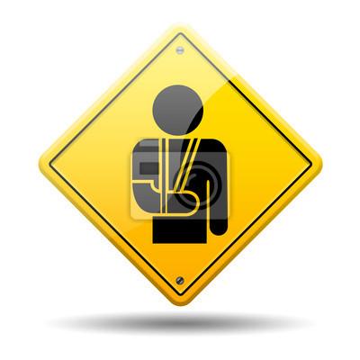 Gelb symbol Orthopädie