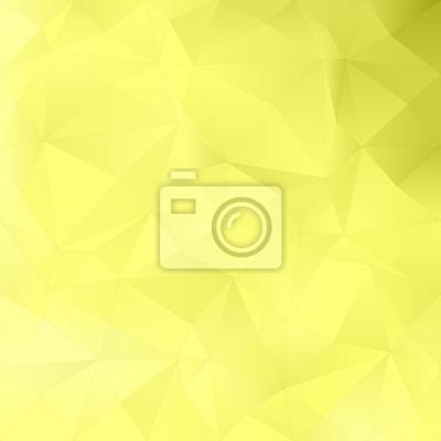 Gelbe abstrakte unregelmäßiges Dreieck-Muster
