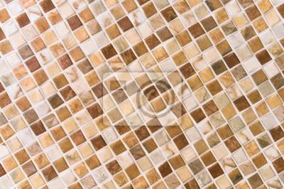 Bild Gelbe Mosaikfliesen