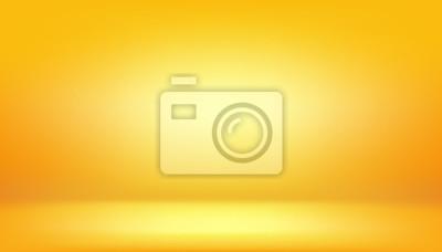 Bild gelber Hintergrund, abstraktes Steigungsstudio und Wandbeschaffenheitsvektor und -illustration, können verwendetes Ihr Produkt verwendet werden